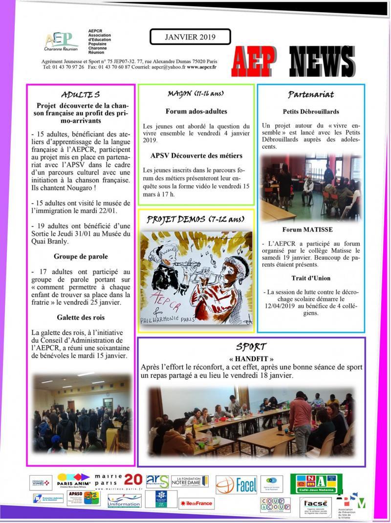 Aep news janvier 2019 1