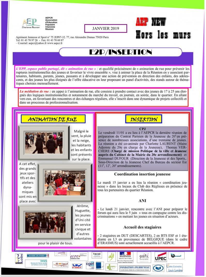 Aep news janvier 2019 2