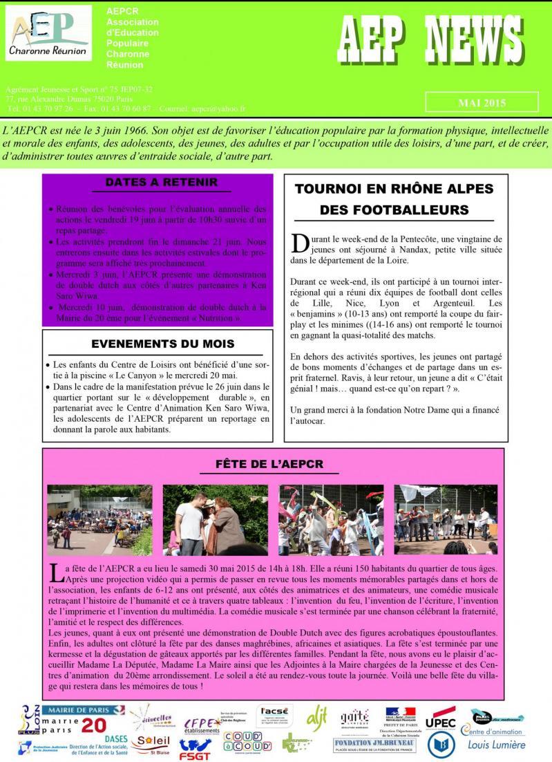Aep news mai 2015 1