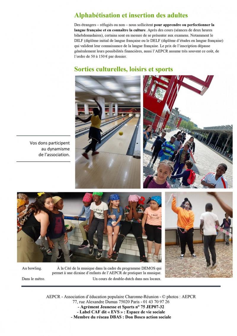 Aepcr appel a dons nov 2019 2