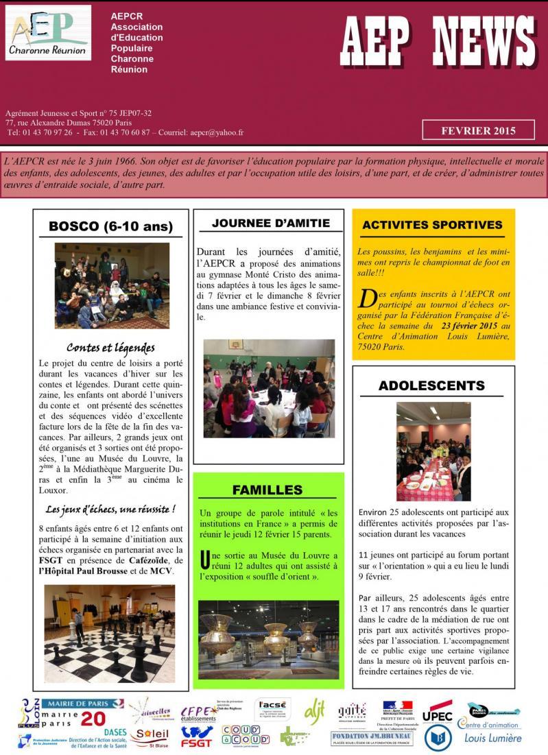 News fevrier 2015 1