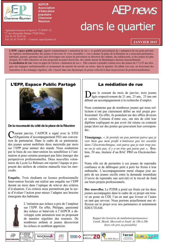 News janvier 2015 2