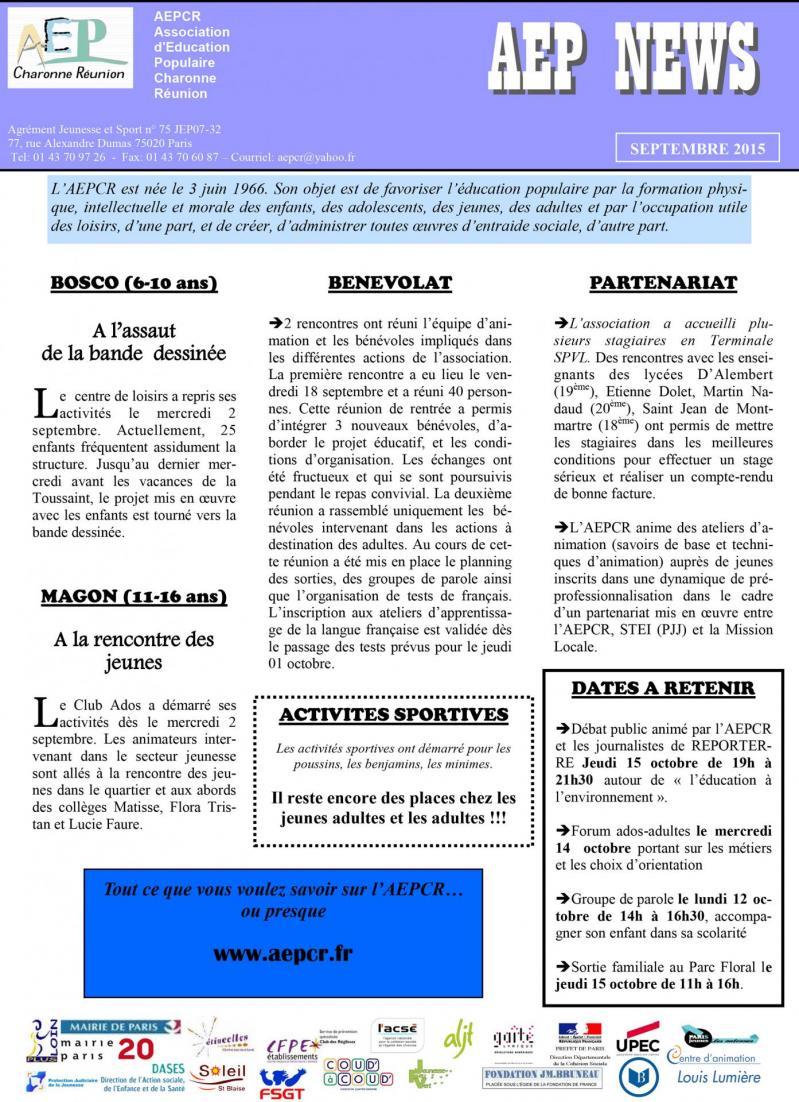 News sept 2015 1